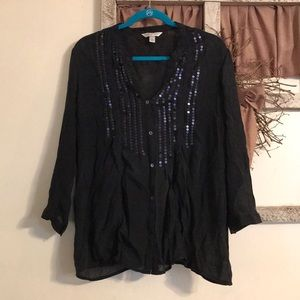 Tops - Krazy Kat XL black top